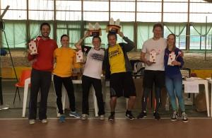 EFO 2016 - Mixed pairs podium